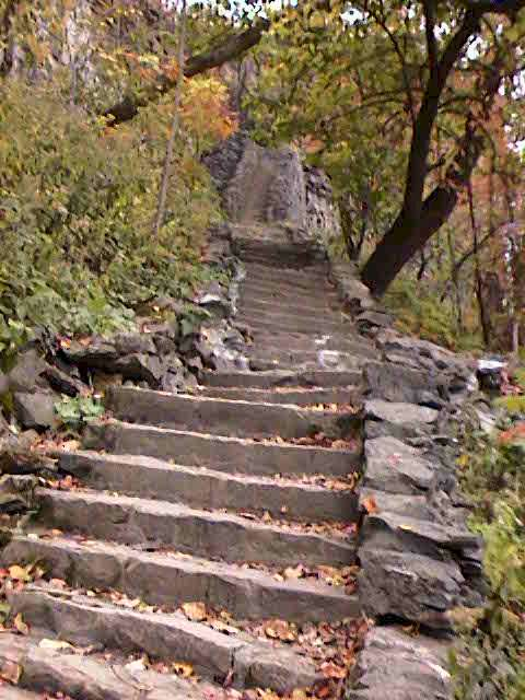 Steps to the Gorge